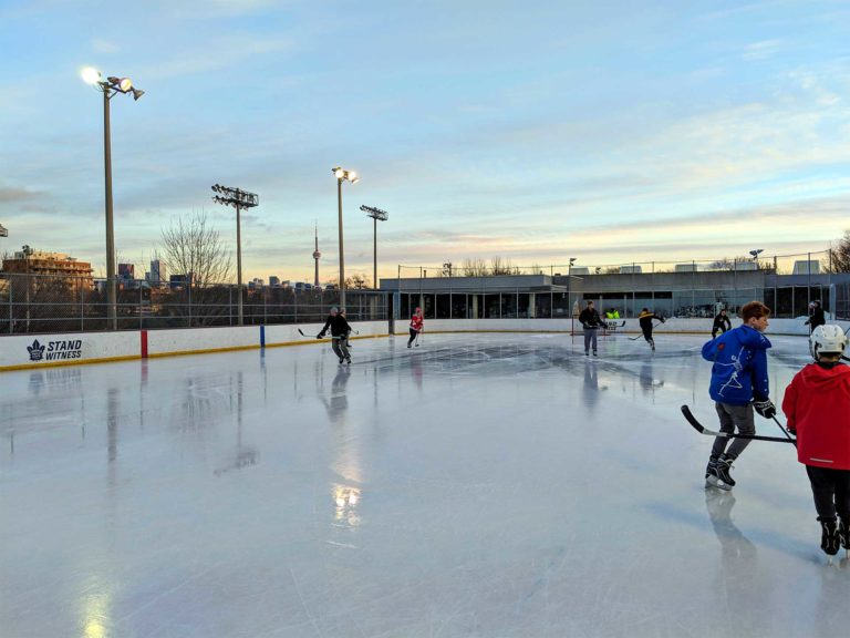 Shinny in Christie Pits Park