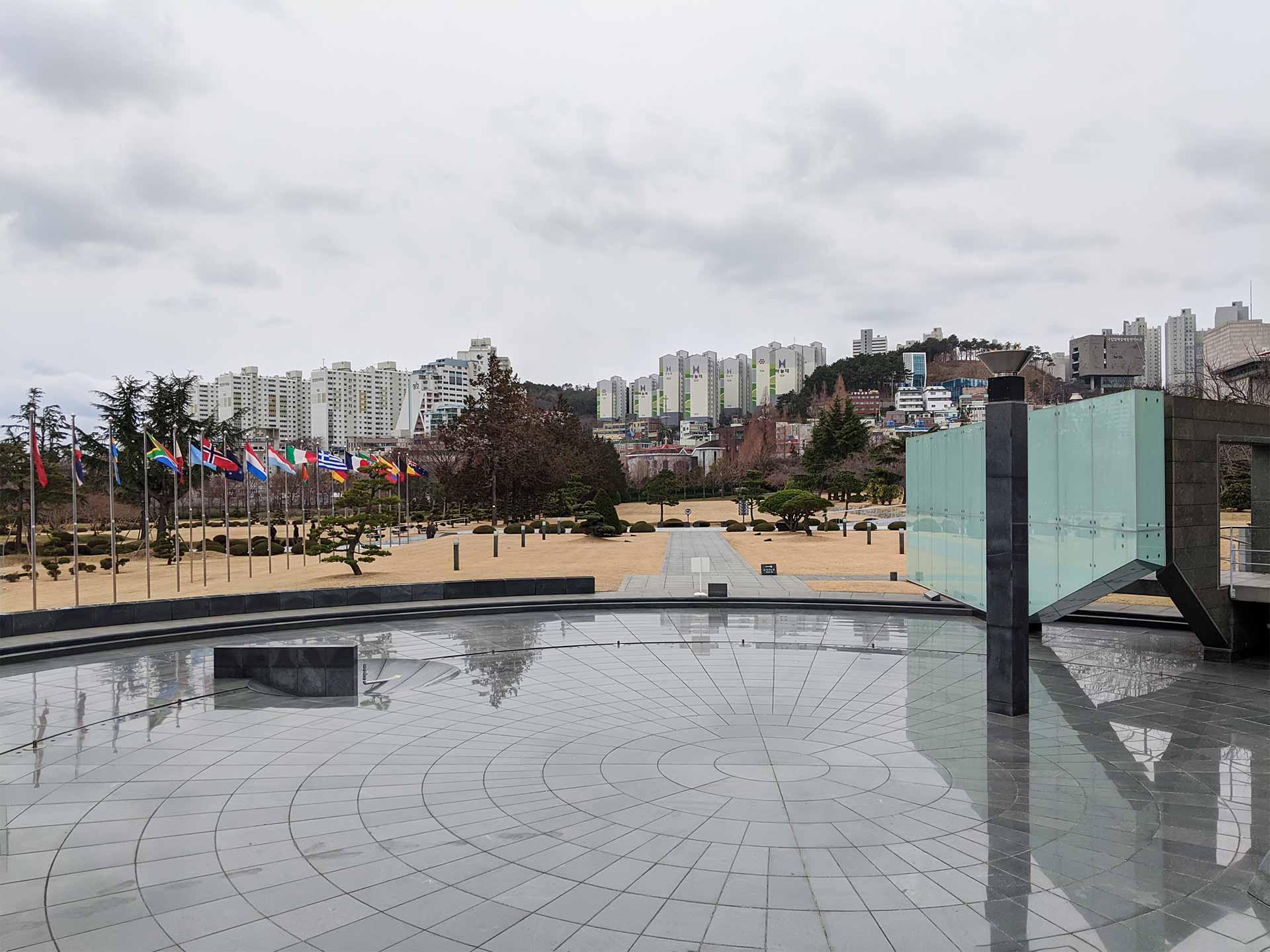 Korean War Memorial in Busan